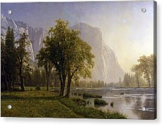 Yosemite Valley Acrylic Print by Albert