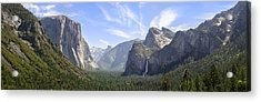 Yosemite Valley Acrylic Print by Francesco Emanuele Carucci