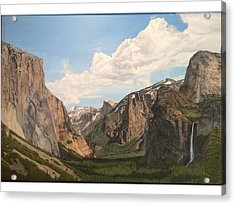Yosemite Valley Acrylic Print by Scott Donovan