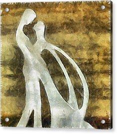 You And I 1 Acrylic Print by Angelina Vick