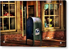 You Got Mail Acrylic Print by Todd Hostetter
