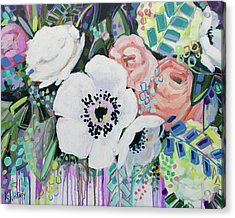 You Had Me At Hello Acrylic Print by Kristin Whitney