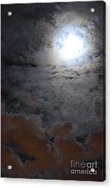 You Just Got Mooned Acrylic Print by Joy Bradley