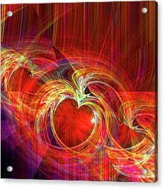 You Make Me Feel Whole Acrylic Print by Michael Durst