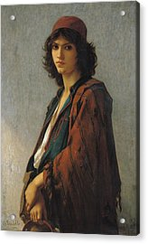 Young Bohemian Serb Acrylic Print by Charles Landelle