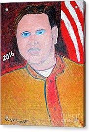 Jeb Bush 1 Acrylic Print by Richard W Linford