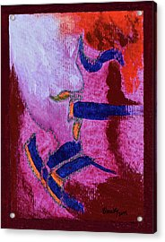 Your Essence Around Me Acrylic Print by Donna Blackhall