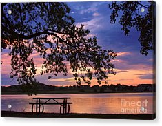 Your Table Is Ready Acrylic Print by James BO  Insogna