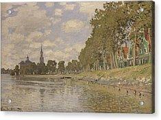 Zaandam Acrylic Print by Claude Monet
