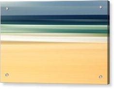 Zen Beach Acrylic Print by Az Jackson