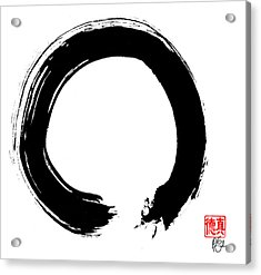 Zen Circle Five Acrylic Print by Peter Cutler