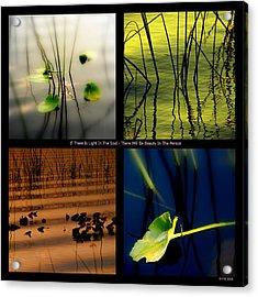 Zen For You Acrylic Print by Susanne Van Hulst