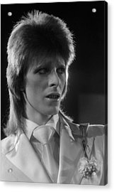 Ziggy At The Marquee Club  Acrylic Print by Terry O'Neill