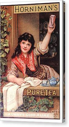 1890s Uk Tea Horniman�s Canvas Print by The Advertising Archives
