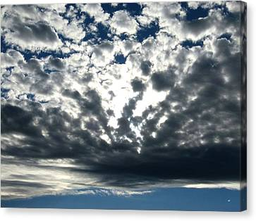 A Glorious Cloudscape Canvas Print by Will Borden
