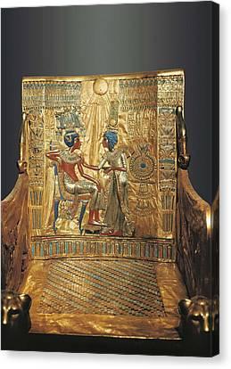 � Aisaeverett Collection Throne Canvas Print by Everett