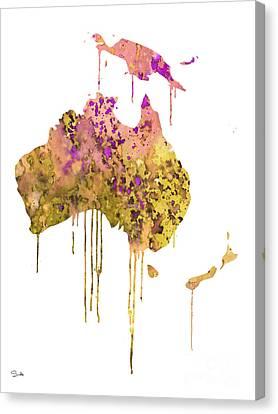 Australia Canvas Print by Luke and Slavi