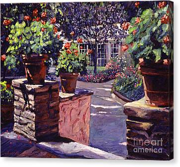 Bel-air Gardens Canvas Print by David Lloyd Glover