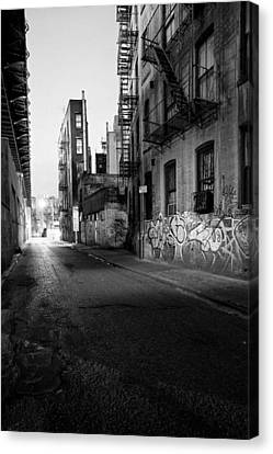Chinatown New York City - Mechanics Alley Canvas Print by Gary Heller