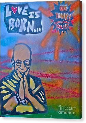 Dalai Lama 1 Canvas Print by Tony B Conscious