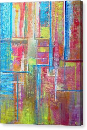 ... For A Trickle Of Water  Canvas Print by Jeremy Aiyadurai
