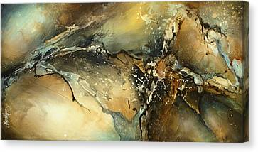 ' Fractured ' Canvas Print by Michael Lang