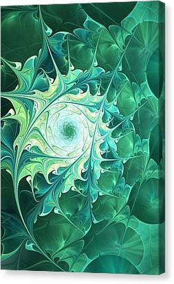 Green Magic Canvas Print by Anastasiya Malakhova