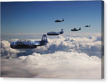 Grumman  Avenger - Lost.... Canvas Print by Pat Speirs