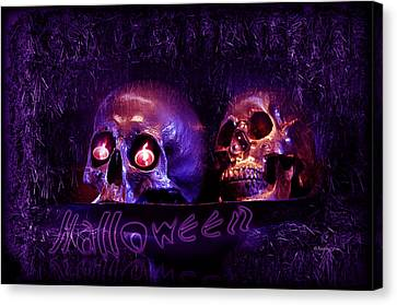 Halloween Party  Canvas Print by Xueling Zou