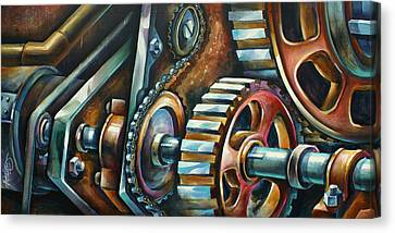 ' In Harmony ' Canvas Print by Michael Lang