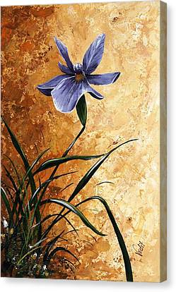 Iris 017 Canvas Print by Edit Voros