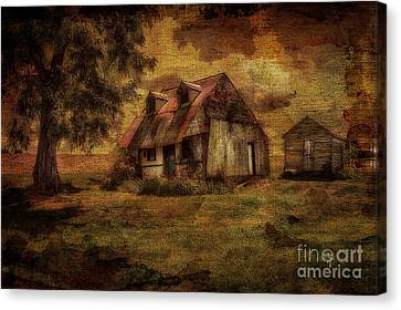Just Biding Time Canvas Print by Lois Bryan