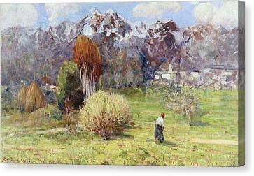 Landscape Canvas Print by Dario Bardinero