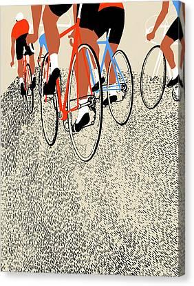 Legs Canvas Print by Eliza Southwood