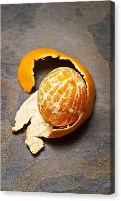 Mandarin Orange Canvas Print by Donald  Erickson