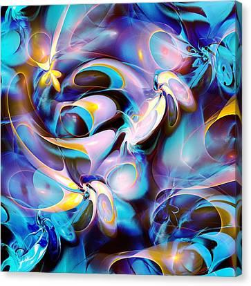 Pleasant Shapes Canvas Print by Anastasiya Malakhova