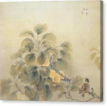 Rainy Season Canvas Print by Nishimura Goun