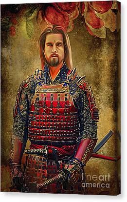 Samurai Canvas Print by Andrzej Szczerski