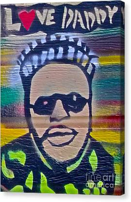 Senor Love Daddy Canvas Print by Tony B Conscious