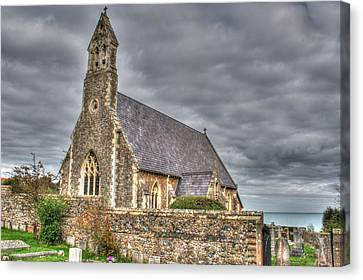 St John The Evangelist Kingsdown Canvas Print by Dave Godden