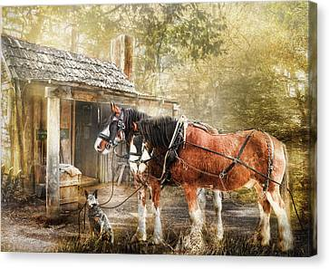 The Replacements Canvas Print by Trudi Simmonds