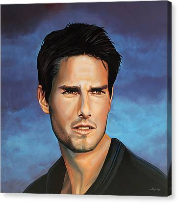Tom Cruise Canvas Print by Paul Meijering