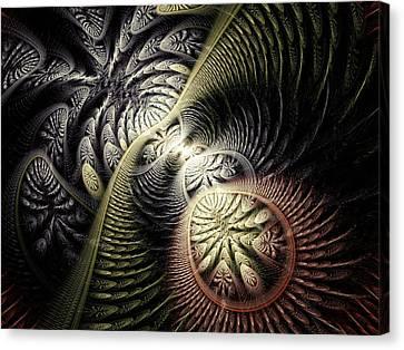 Trilobite Trail Canvas Print by Anastasiya Malakhova