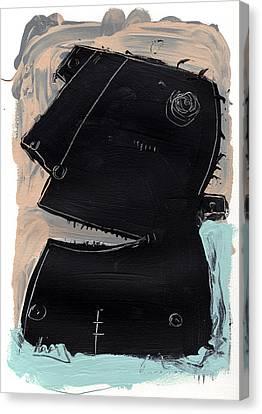 Umbra No. 4 Canvas Print by Mark M  Mellon