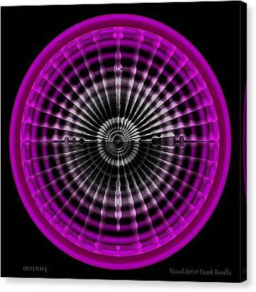 #01212014 Canvas Print by Visual Artist  Frank Bonilla