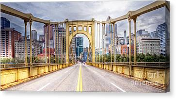 0305  Pittsburgh 10 Canvas Print by Steve Sturgill