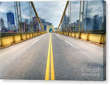 0306 Pittsburgh 9 Canvas Print by Steve Sturgill