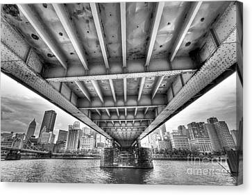 0308 Pittsburgh 5 Canvas Print by Steve Sturgill
