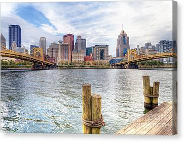 0310 Pittsburgh 3 Canvas Print by Steve Sturgill