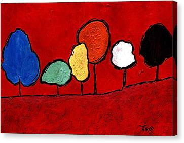 04 Trees Canvas Print by Mirko Gallery